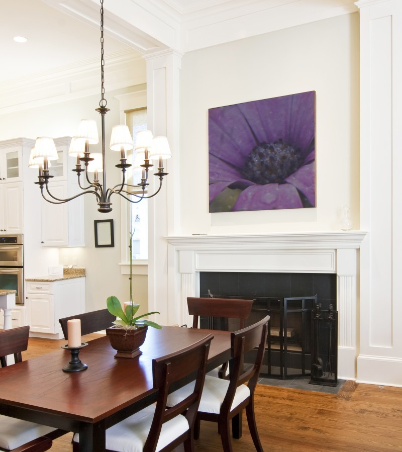 Dining Room Molding: Molding & Trim: Finding The Right Color