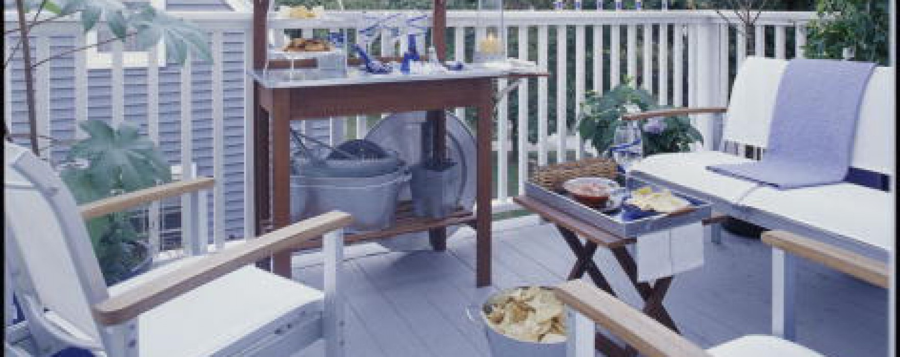 Stress Free Fun Easy Deck Party Ideas Better Homes