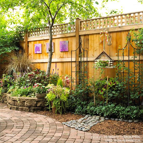 Backyard Landscaping Ideas For Privacy Better Homes And Gardens