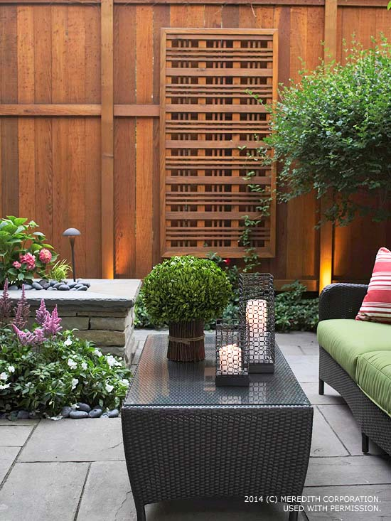 Backyard Landscaping Ideas For Privacy | Better Homes And Gardens Real Estate Life