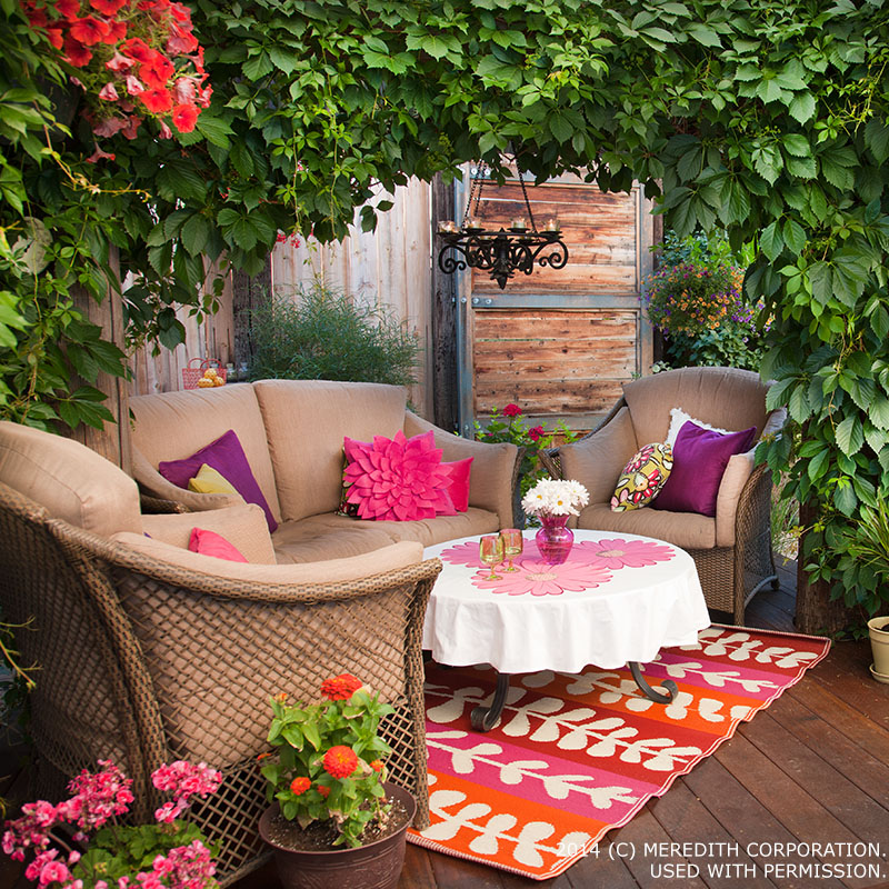 Outdoor Entertaining Ideas For Small Es Better Homes And