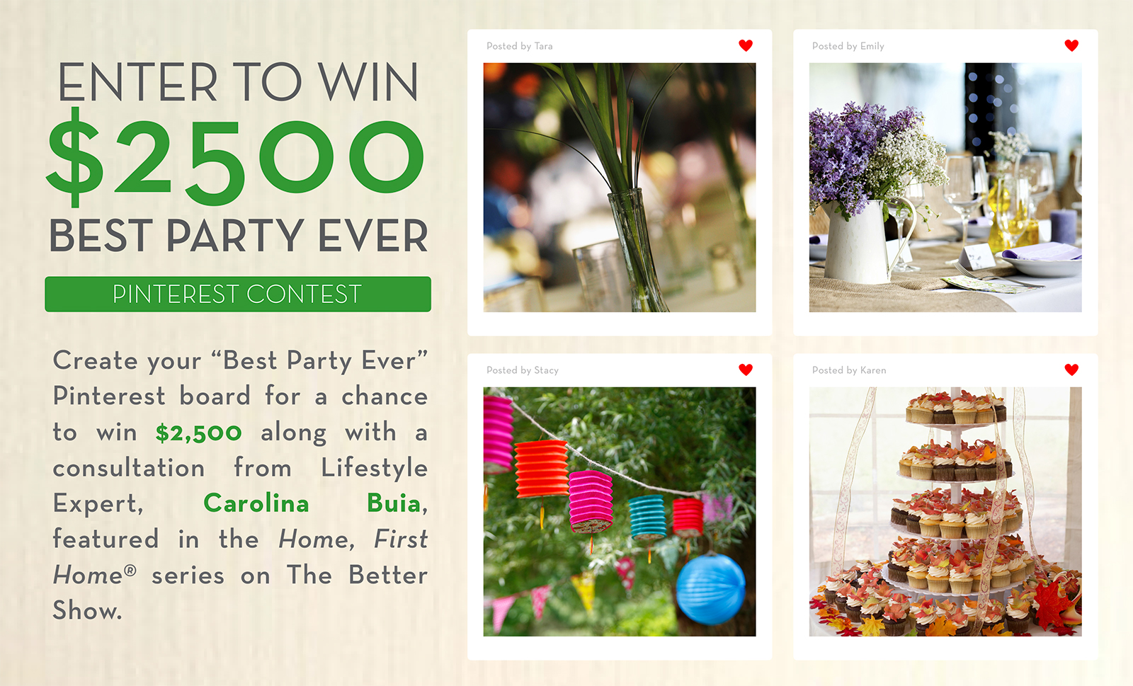 Pinterest Sweepstakes Better Homes And Gardens Real