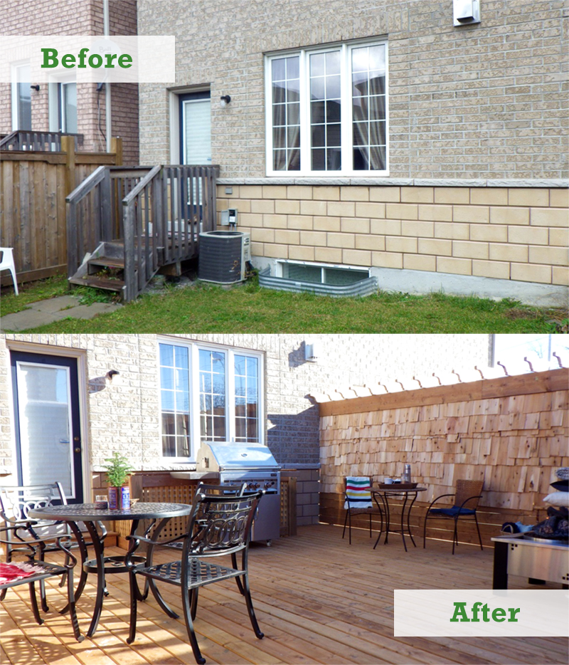 Ask a Pro Q&A: Townhouse Backyard Makeover - Better Homes ... on Townhouse Patio Design Ideas id=81734