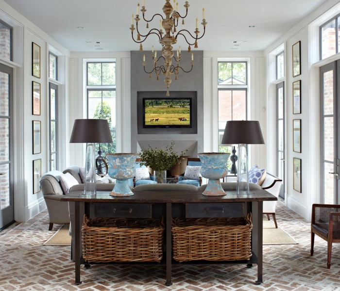 Flooring Options for Your Home: Living Room Ideas