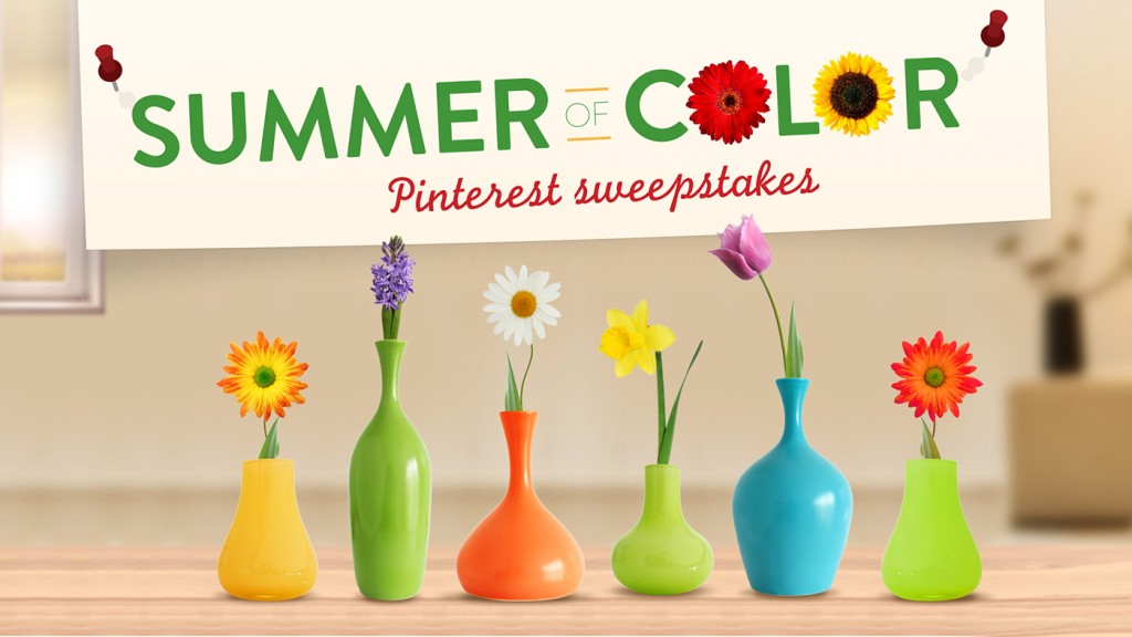 Summer of Color Pinterest Sweepstakes