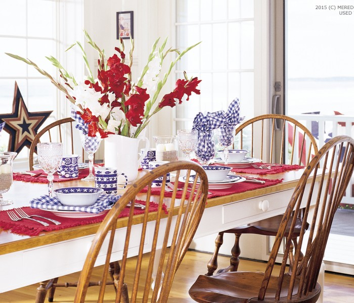 Decorating Your Home with Red, White, and Blue