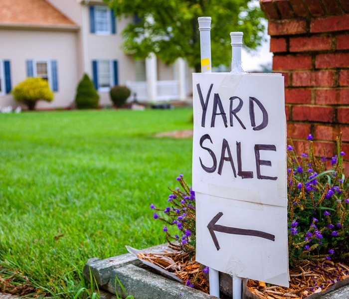 A Charitable Twist to Your Next Yard Sale