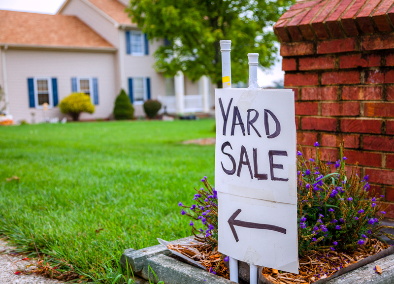 how to prepare for a yard sale
