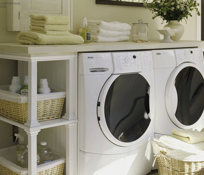 Laundry Room Solutions: Space-Saving Secrets