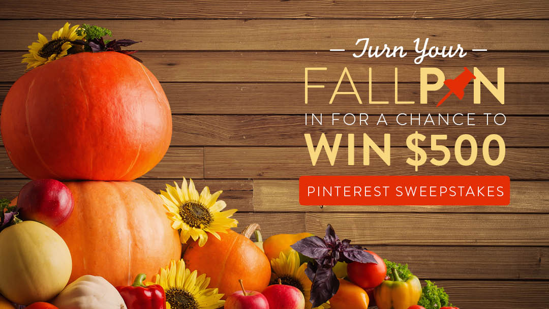 Fall In Love With Our Fall Pin Love Sweepstakes Better Homes And
