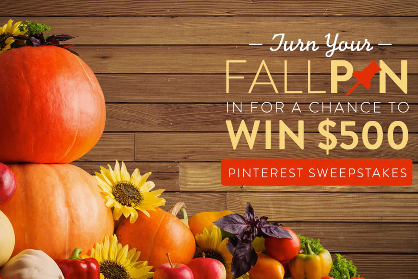 Fall in Love with Our Fall Pin Love Sweepstakes! | Better Homes and ...
