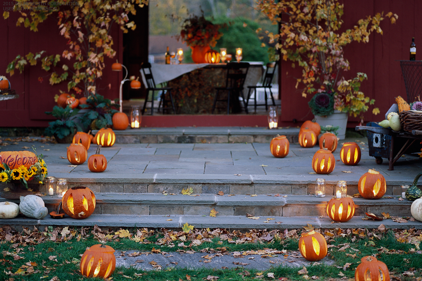 How To Host A Fall Backyard Party Better Homes And