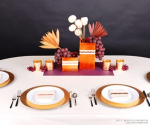Thanksgiving Table Decorating Tips - bhgrelife.com