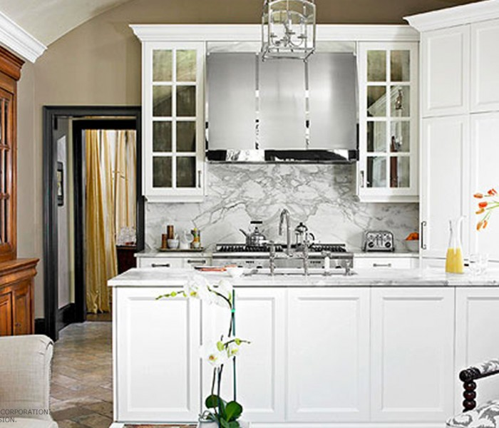 How to Impress with a Basic White Kitchen