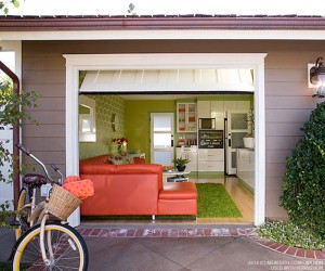 Garage Makeover: From Storage Space to Swanky Hangout Room - bhgrelife.com
