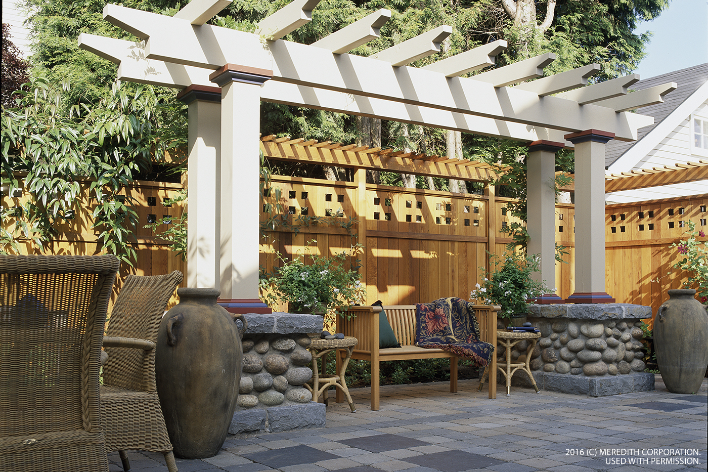 Patio privacy inspiration to help create a perfect outdoor for Outdoor patio inspiration