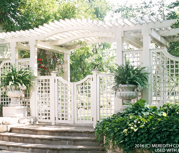 Create Backyard Privacy with a Trellis