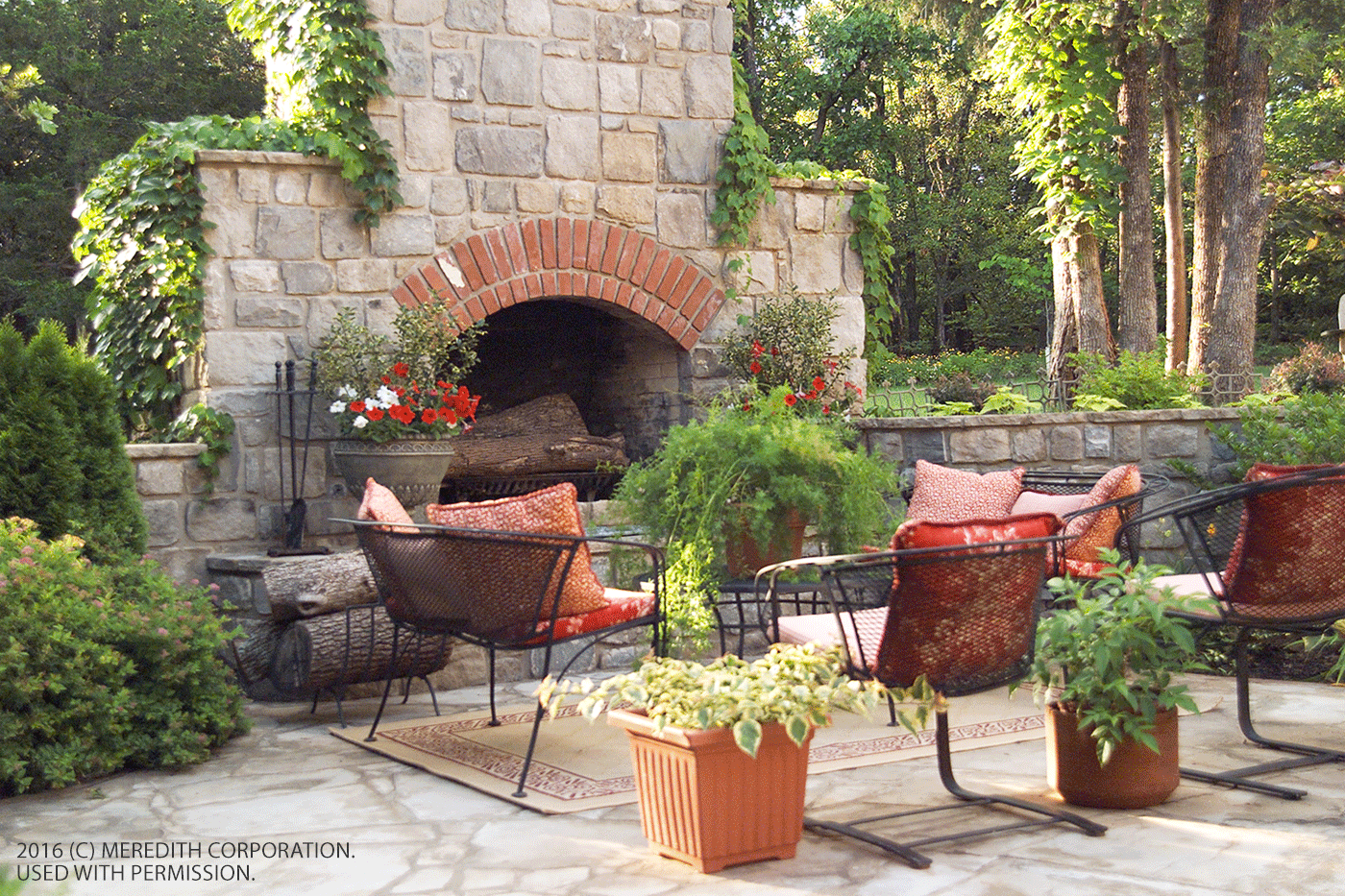 Fabulous Outdoor Fireplace Designs Better Homes And Gardens Real Estate Life