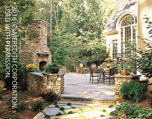 Fabulous Outdoor Fireplace Designs Better Homes And Gardens Real