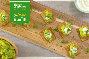 Tropical Guacamole Bites Recipe - bhgrelife.com