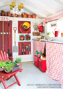 How to Reorganize and Decorate an Outdoor Storage Shed - bhgrelife.com