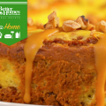 Decadent Carrot Cheesecake with Butterscotch Maple Glaze