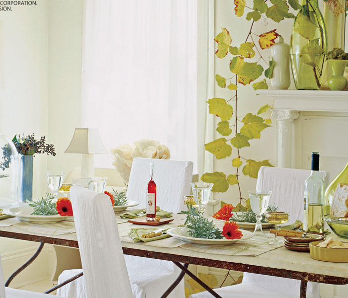 Thanksgiving Decorating that's Inspired by Nature
