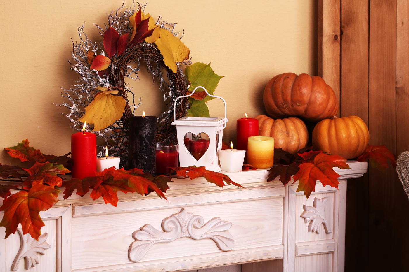 bhgrelife.com - Cozy and Colorful Home Decorations for Fall