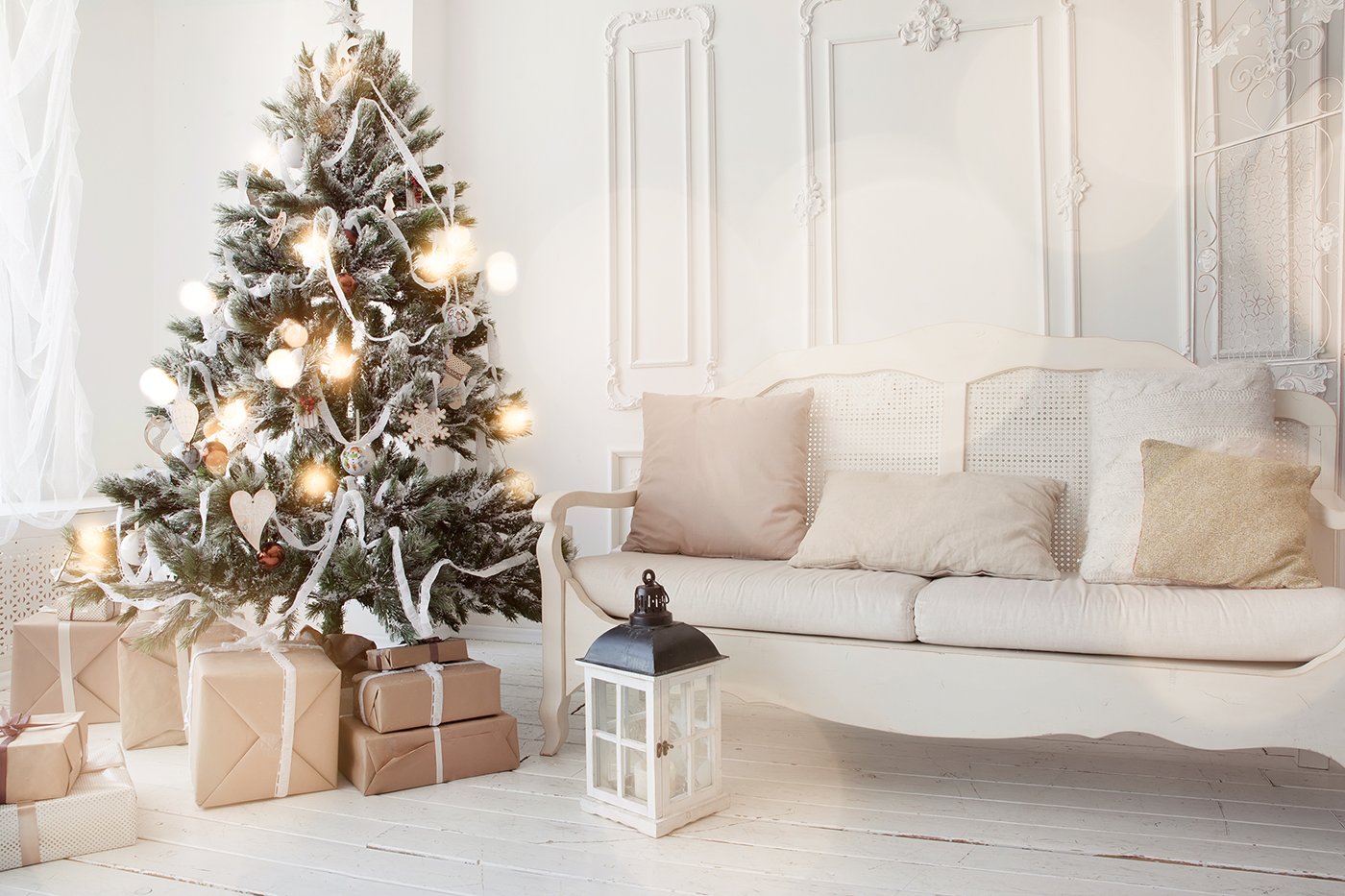 How to Decorate Using Winter Whites to Brighten Up Your Home - bhgrelife.com
