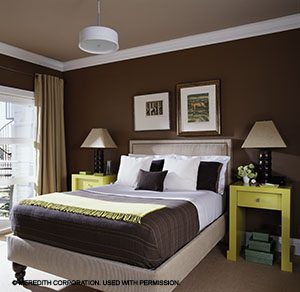Create coziness with color & Ideas for Creating a Cozy Basement Bedroom | Better Homes and ...