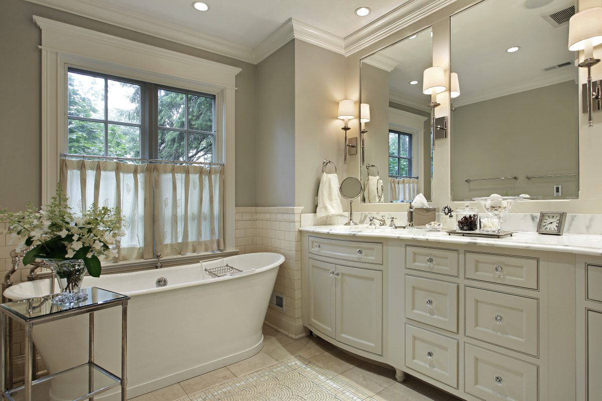 4 Ways to Create the Effect of a Luxurious Bathroom Makeover