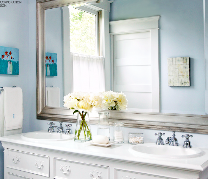 how to design a beautiful blue bathroom - Better Homes And Gardens Archives