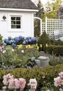 Create an entryway garden that wows better homes and gardens real spring flower garden ideas mightylinksfo