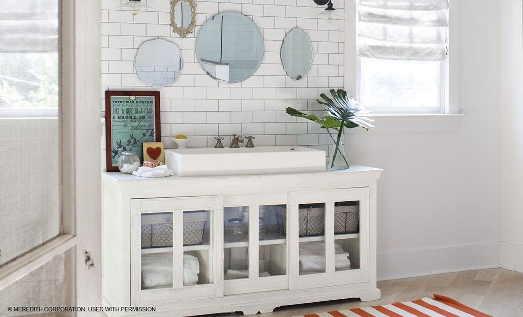 Great Ideas For A Diy Bathroom Vanity Better Homes And Gardens Real Estate Life