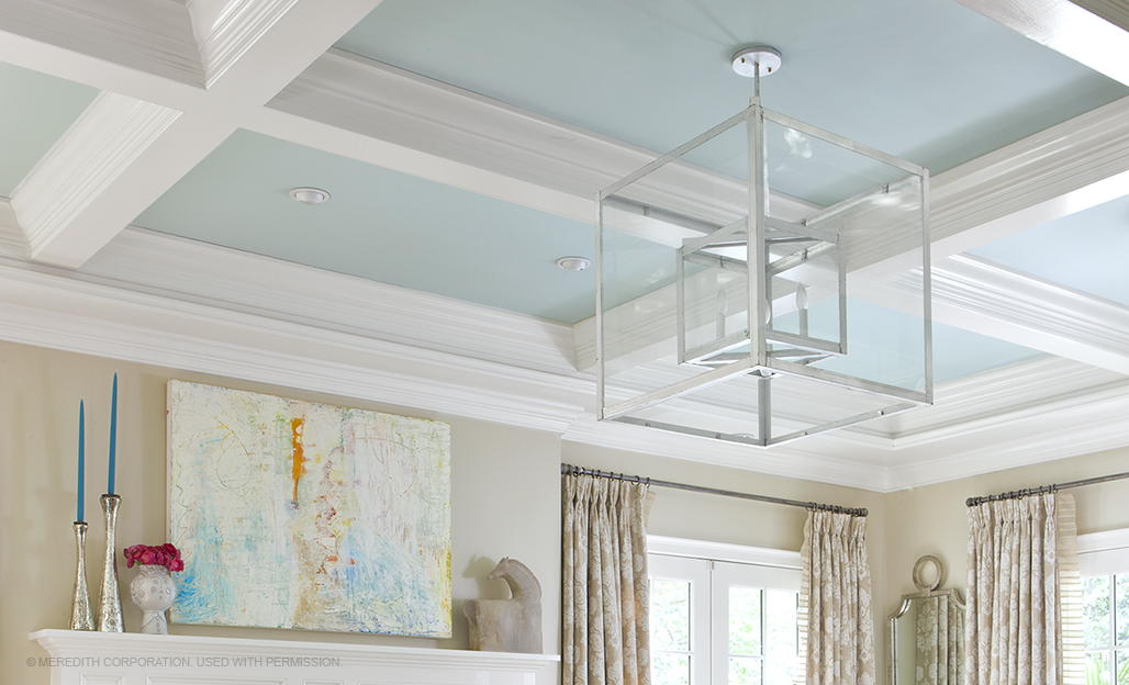 Pretty Painted Ceilings To Inspire You