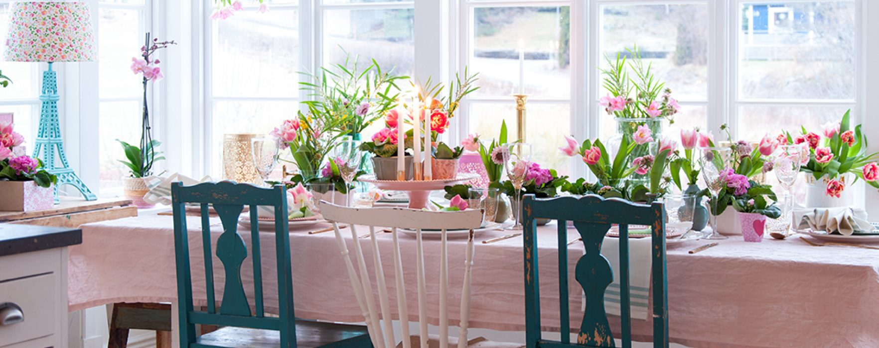 6 Ideas for a Sensational Easter Table Setting : easter table setting - Pezcame.Com