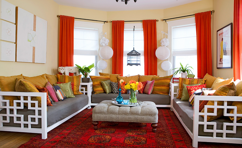 Red Living Rooms - Better Homes and Gardens Real Estate Life
