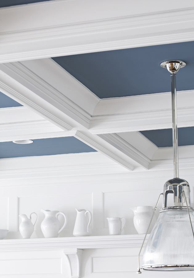 Look up and dress up your ceiling