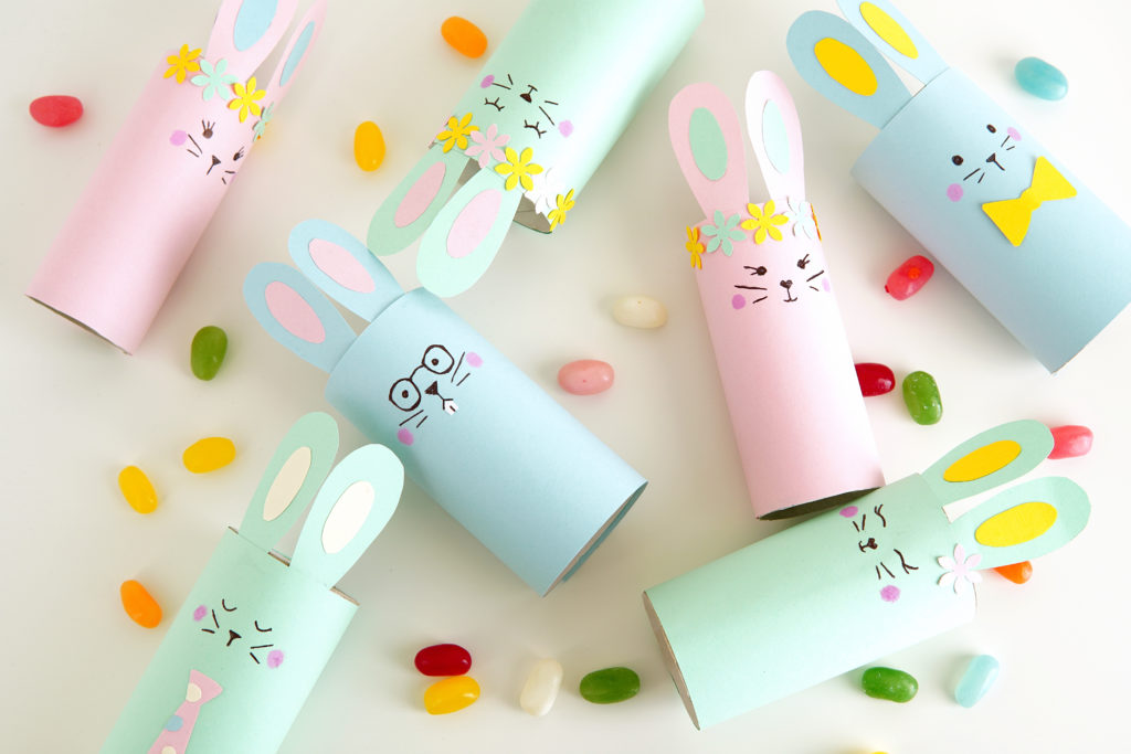 Toilet Paper Bunny Easter Craft