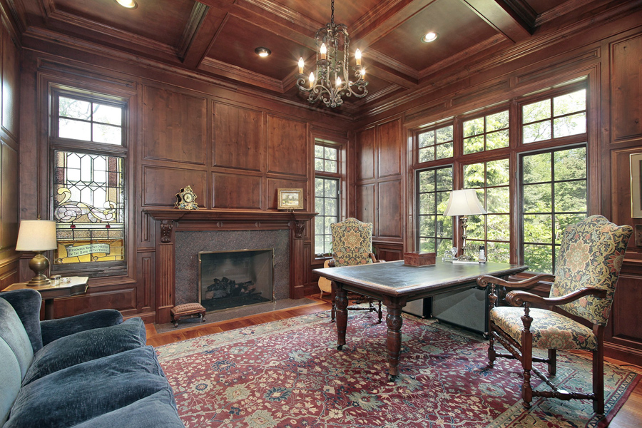 Workarounds For Wood Paneling, Living Room Wood Paneling